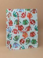Christmas jumper design gift bag (Code 3668)